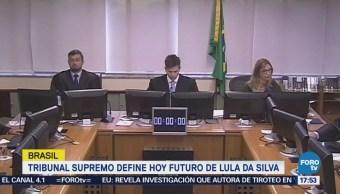 Tribunal Supremo define futuro de Lula da Silva