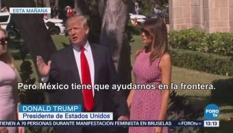 Trump Asegura Detendrá Tlcanméxico Frena Flujo Drogas Migrantes