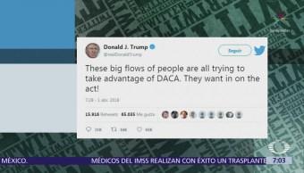 Trump: no más acuerdo de DACA