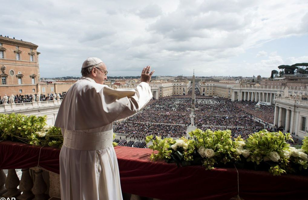 papa francisco paz reconciliacion pascua gaza