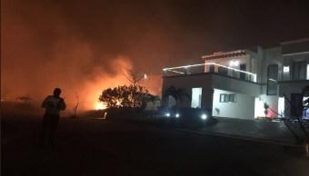 vecinos aledaños a la riviera veracruzana exigen servicios contra incendios