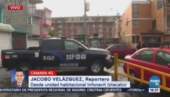 Vecinos en Iztacalco intentan detener a un asaltante