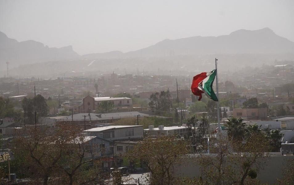 Zona de inestabilidad provoca vientos fuertes y posibles tolvaneras en el norte de México