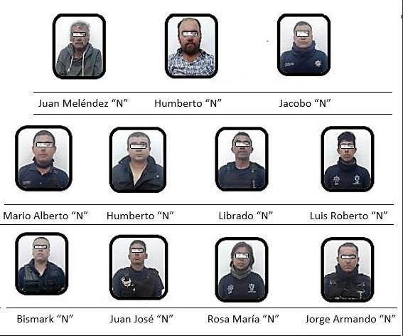 vinculan a proceso a policias y civiles por secuestro en naolinco