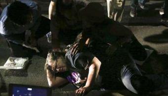 Una patrulla atropella a una mujer en protestas raciales de Sacramento, EU