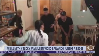 Will Smith baila con Nicky Jam