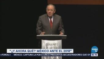 '¿Y ahora qué? México ante el 2018', nuevo libro de Aguilar Camín