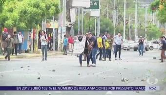 Ya suman seis días de protestas y enfrentamientos en Nicaragua