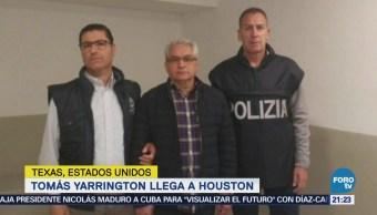 Tomás Yarrington Llega Estados Unidos Tamaulipas