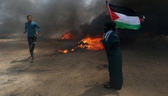 protestas gaza traslado embajada eu dejan 147 heridos