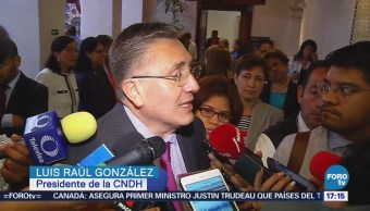 CNDH Llama Candidatos Mantener Discurso Paz