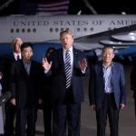 Trump agradece a Kim Jong-un por liberación de estadounidenses