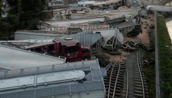 Descarrilamientos de trenes en Veracruz son actos de sabotaje Ferromex
