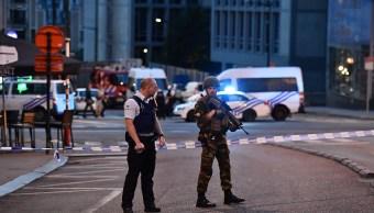 Evacuan estación de trenes de Bruselas por disparo que no causó heridos