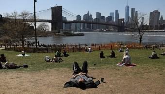 Ola de calor golpea Nueva York con temperaturas de 33 grados centígrados