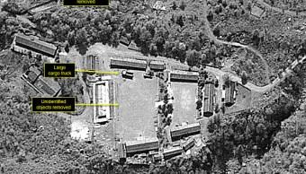 Pyongyang instala plataforma de observadores para desmantelamiento de base nuclear