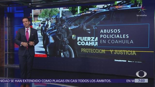 Abusos policiales en Piedras Negras, Coahuila
