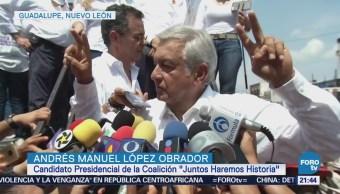 Actividades de Andrés Manuel López Obrador por Nuevo León