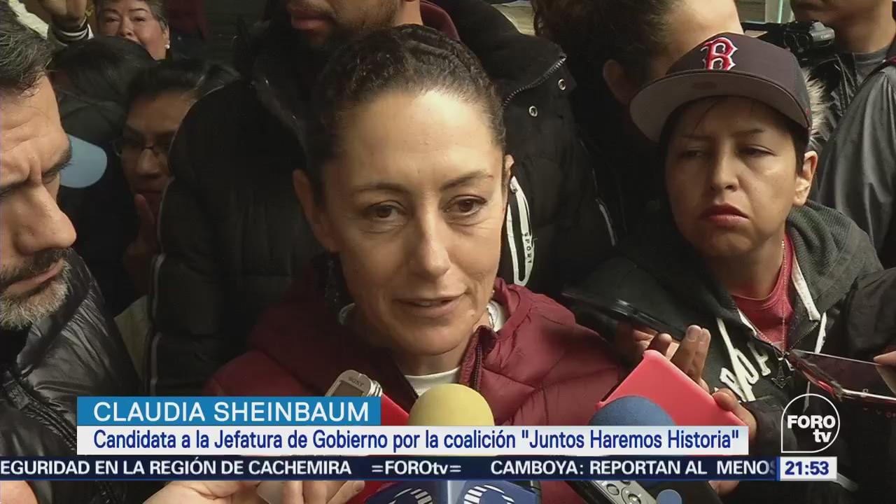 Actividades de Claudia Sheinbaum en Tlalpan