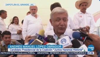 Actividades López Obrador Jalisco Campaña Elecciones
