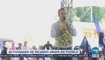 Actividades Ricardo Anaya Puebla Sierra Norte