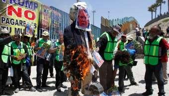 Activistas mexicanos organizan megamentada Donald Trump