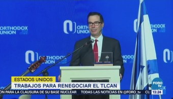 Advierte EU que renegociación del TLCAN podría extenderse hasta 2019
