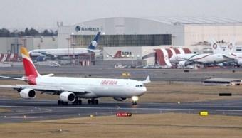 AICM reanuda operaciones de aterrizajes y despegues