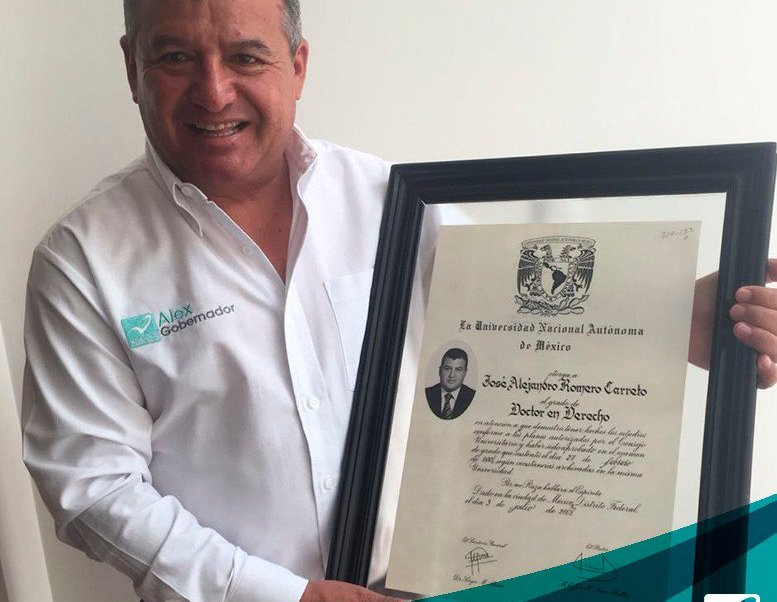 Renuncia candidato del Panal al Gobierno de Puebla