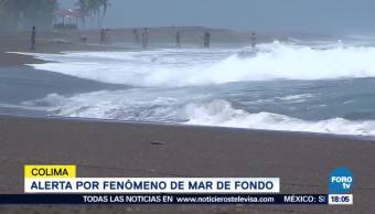 Alerta Fenómeno Mar De Fondo Colima Manzanillo