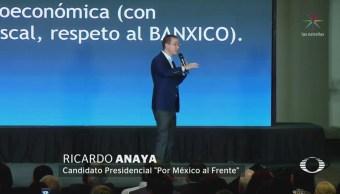 Anaya Propone Crear Secretaría De Seguridad Ciudadana