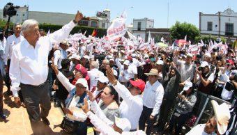 AMLO otorga beneficio de la duda a EPN por respetar elección