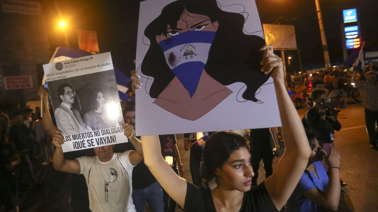 Estudiantes en Nicaragua denuncian que Gobierno busca criminalizar protestas