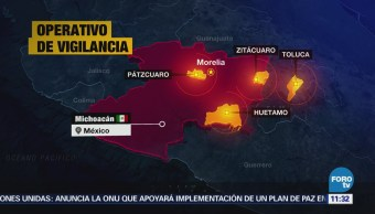 Aplican operativo en carreteras de Michoacán tras protestas de la CNTE