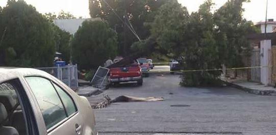 Reportan daños en municipios de Nuevo León por granizadas y lluvias