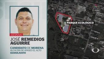 Asesinan Candidato Morena Apaseo El Alto Guanajuato
