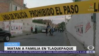 Asesinan a familia dentro de su casa