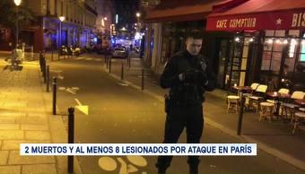 Atacante París Fue Abatido 2 Muertos Y 8 Heridos