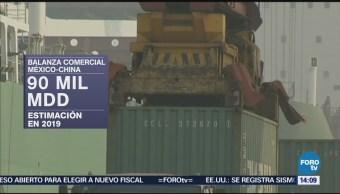 Aumenta Balanza Comercial Entre México China