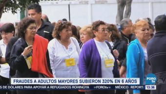 Aumentan Fraudes Adultos Mayores