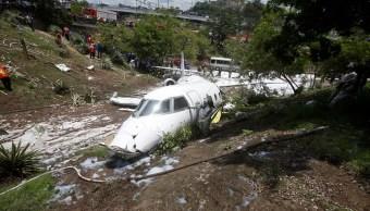 Accidente de avión en Honduras deja seis heridos