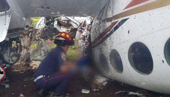 mueren mexicanos avioneta guatemala quetzaltenango accidente