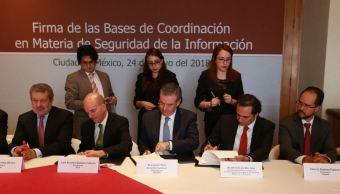 firman convenio prevenir ataques ciberneticos bancos