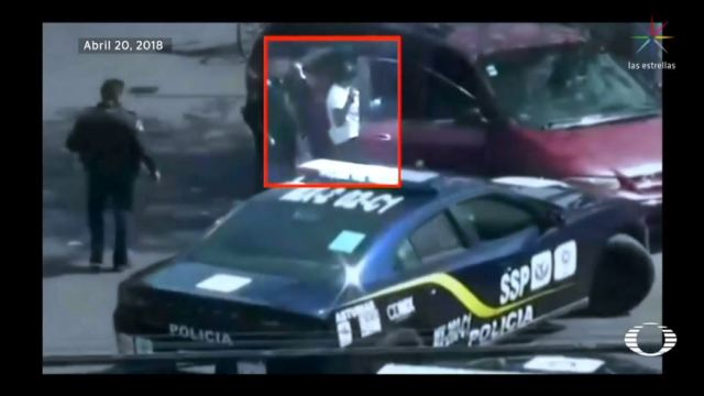 Banda de asaltantes usa un bebé como escudo para robar cuantahabientes