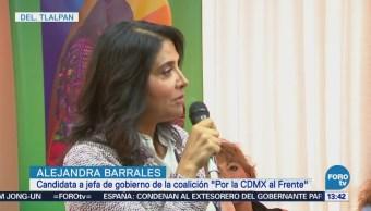 Barrales busca mayor seguridad en CDMX mediante planeación