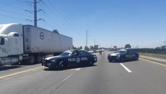Pobladores bloquean tramo de la autopista México-Puebla
