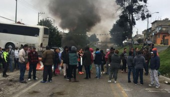 Levantan bloqueo en carretera México-Cuernavaca duró más de 24 horas