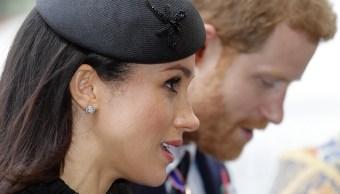 El príncipe Enrique y su prometida Meghan Markle (Archivo/AP)