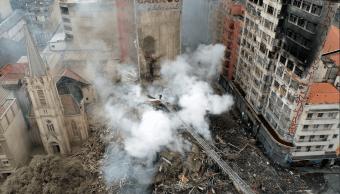 Cifra de muertos por incendio en Brasil podría incrementarse