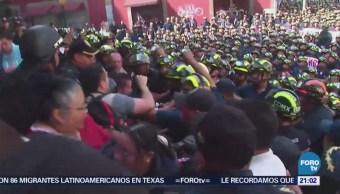 Bomberos Se Manifiestan Denuncia Morena Contra Barrales